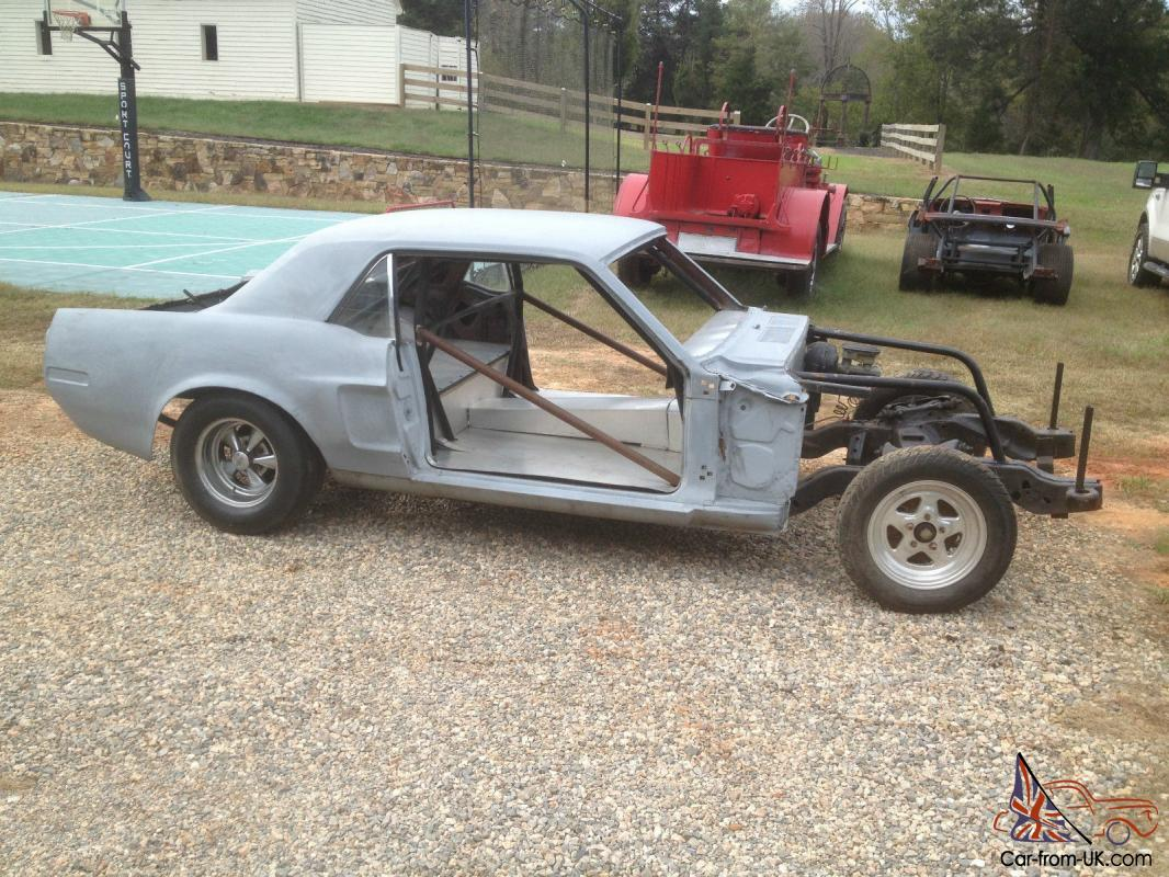 1968 Mustang Drag Racing Project