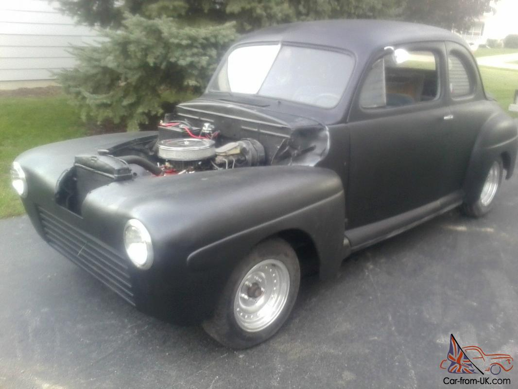 1947 Ford Coupe Hot Rod Rat Rod Power Disc Brakes And Steering 350 Chevy Motor