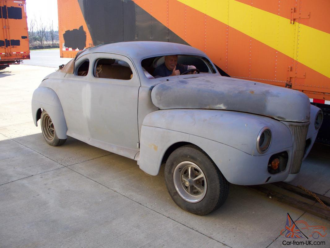1941 Ford Chopped Coupe