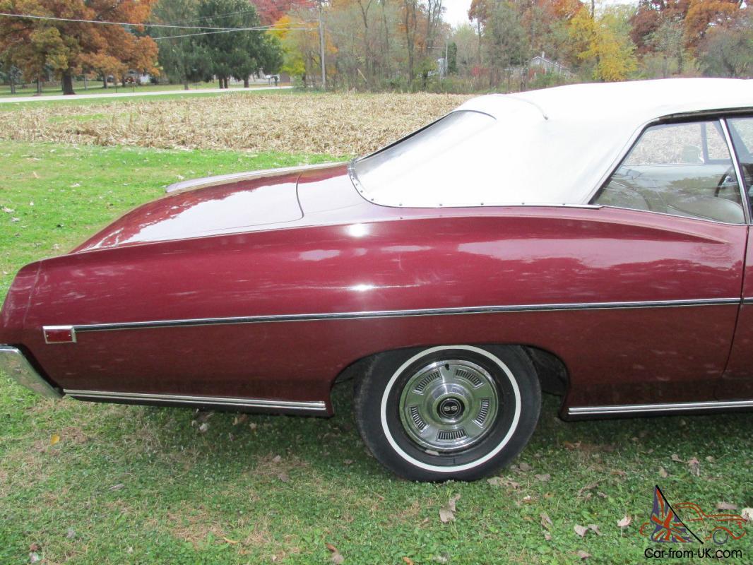 Convertible 1967 chevy impala convertible for sale : CHEVY IMPALA SS CONVERTIBLE 65 66 327 CORVETTE MOTOR VERY NICE CAR ...
