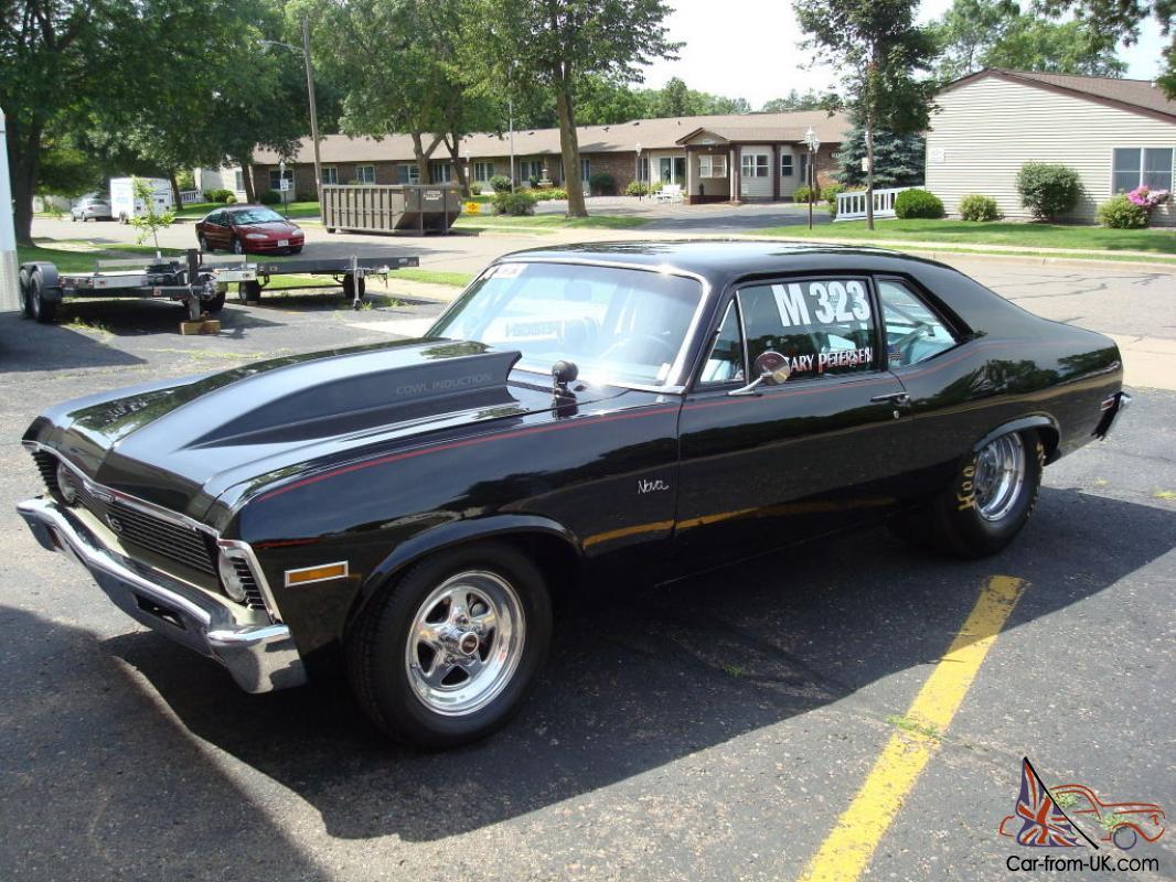 All Chevy black chevy nova ss : Chevrolet Nova SS Drag Car