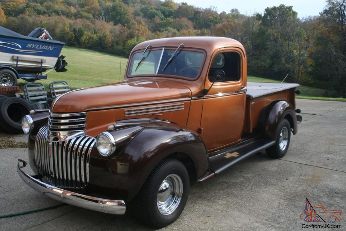 1946 Chevy Truck For Sale >> 1946 Chevy Truck 327 V8 Auto Power Disk Breaks