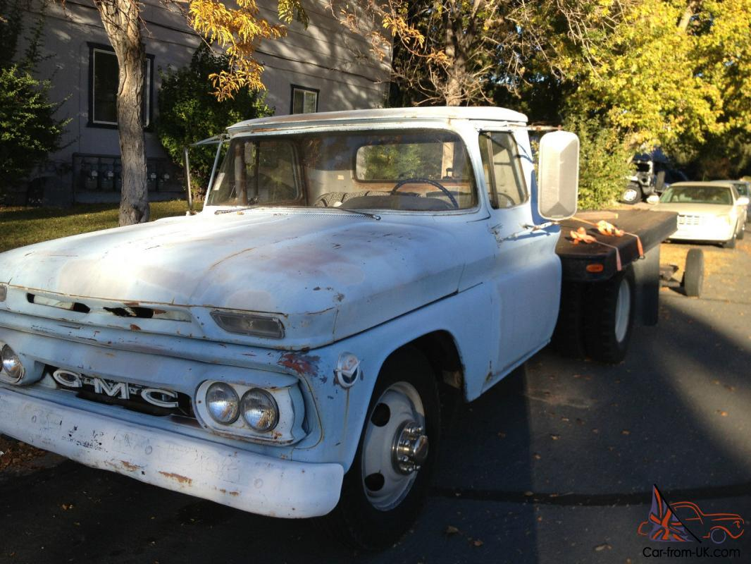 1961 GMC ,like Chevy Chevrolet, 1 T on dually truck pickup ...