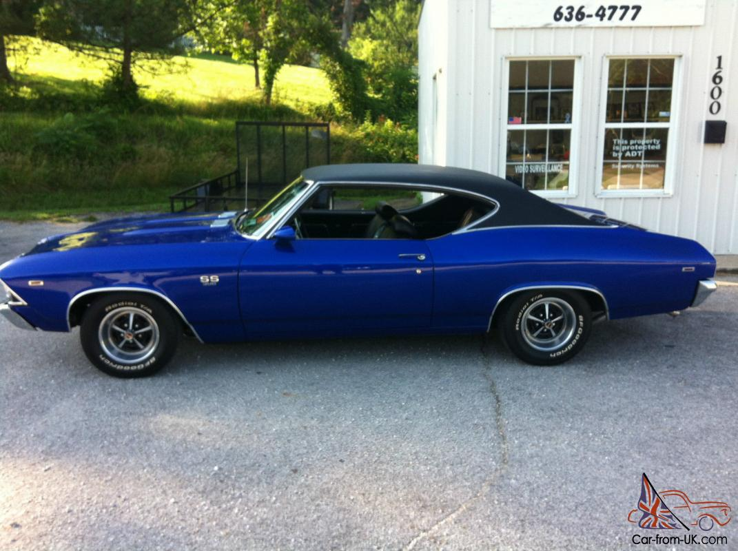 1969 69 Chevy Chevelle Ss Super Sport Big Block Bbc Freshly Completed Beautiful