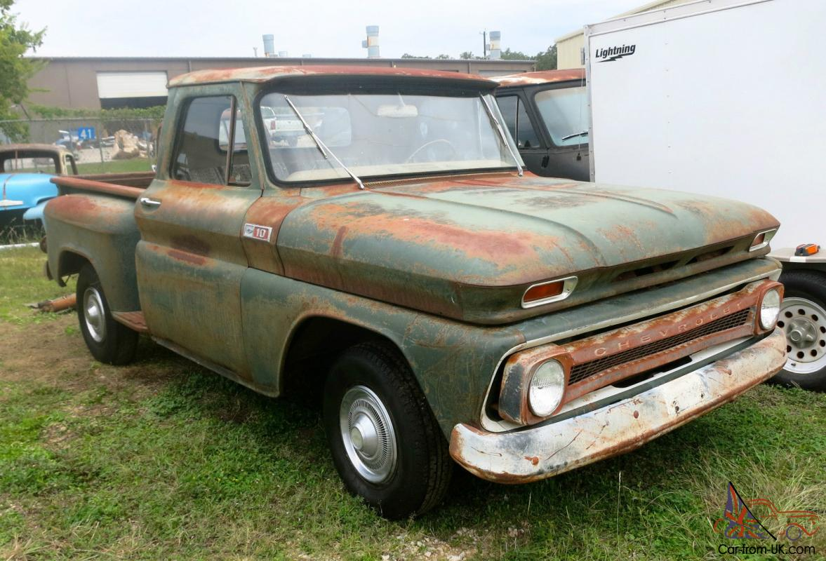 Truck 1965 chevrolet truck : CHEVROLET C10 SHORT WHEEL BASE STEP SIDE PICKUP TRUCK