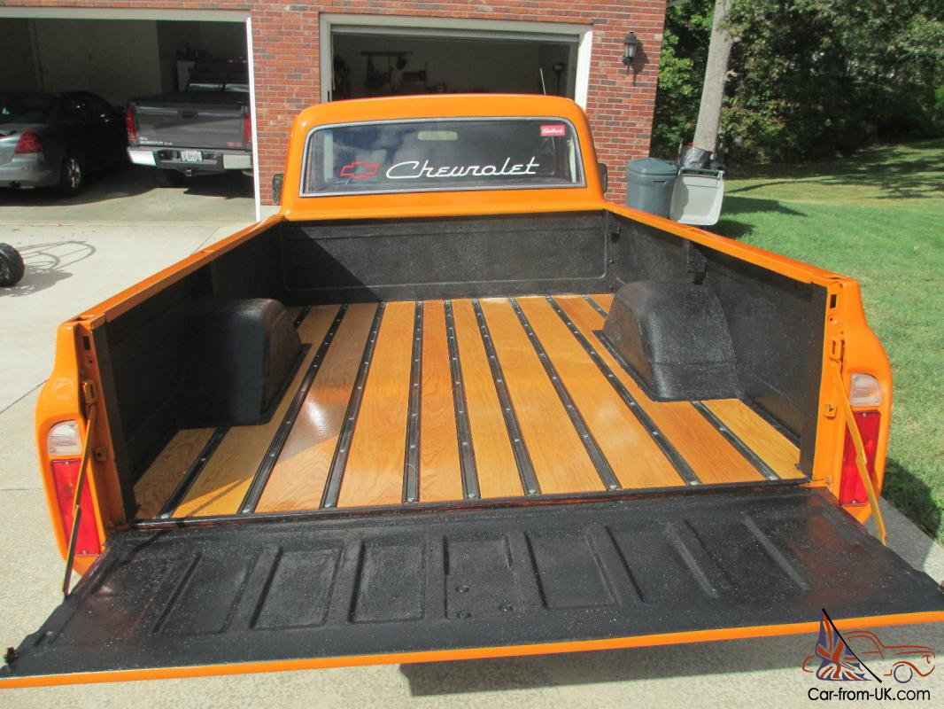 1969 Chevrolet C 10 Truck 1 2 Ton 2 Wd New Oak Bed New Paint Chevy