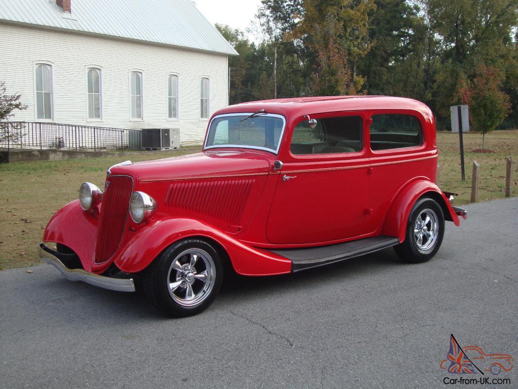 1934 Ford 2 Door Sedan Street Rod Steel