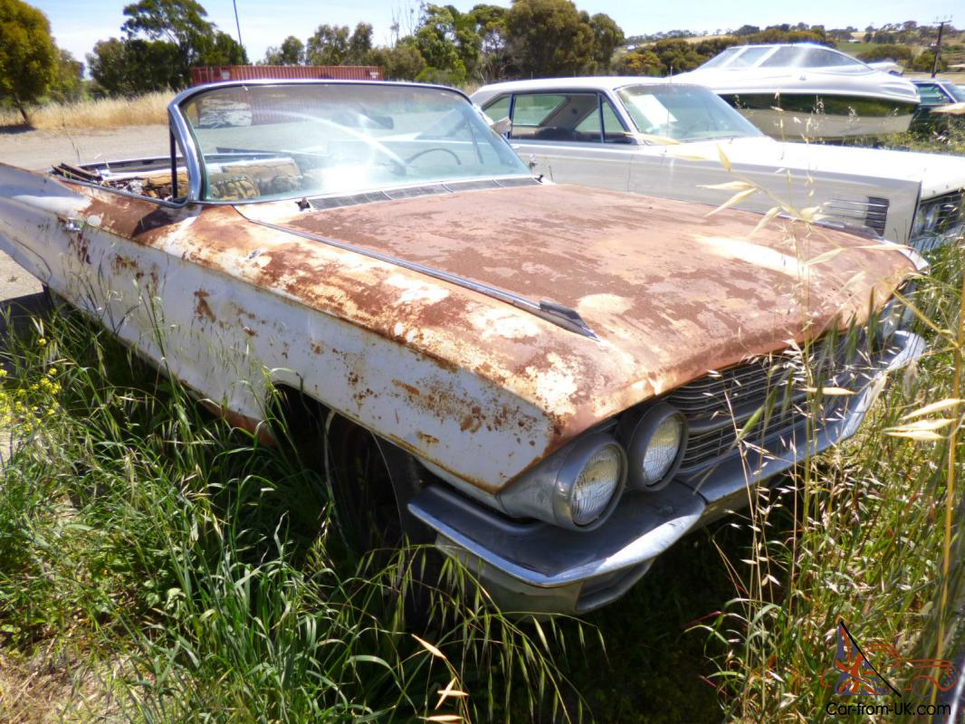 1962 Cadillac Convertible Project Car American Icon Collectable Classic