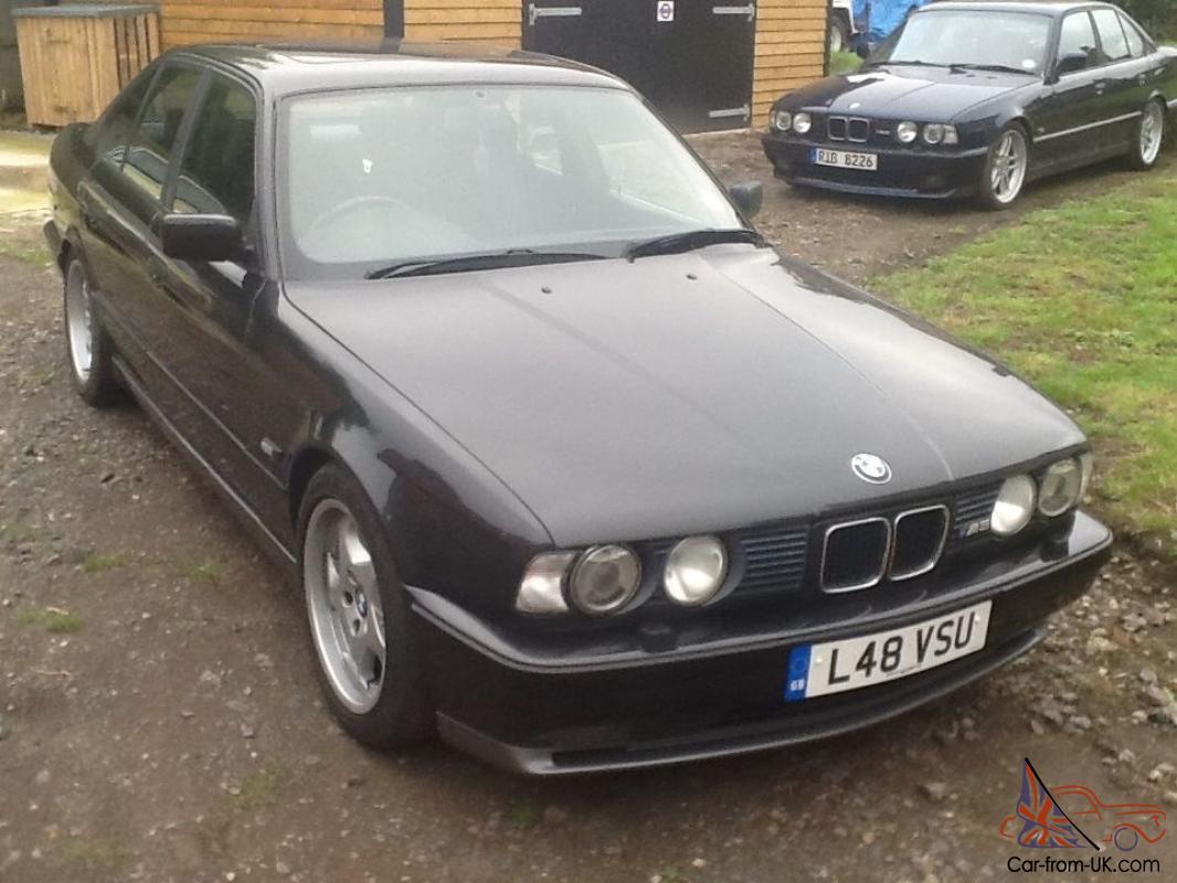 Bmw M5 E34 Black