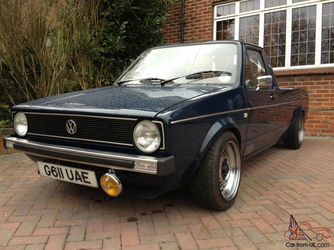 Volkswagen Mk1 Golf Caddy Pick Up Classic