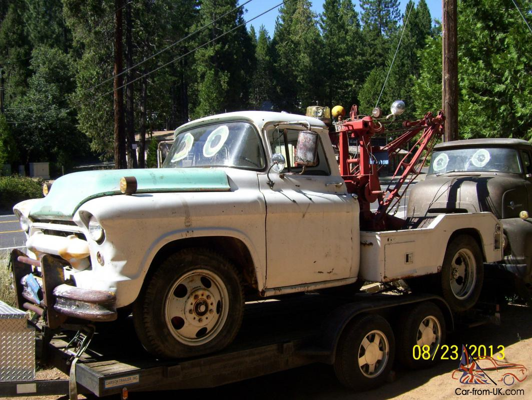 1955 Chevy Chevrolet N 4100 Series Tow Truck Tow Mater