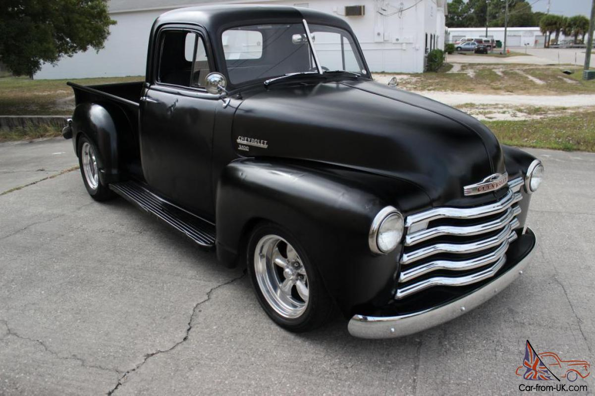 Chevy truck, rat rod truck, corvette suspension, fuel injection ...