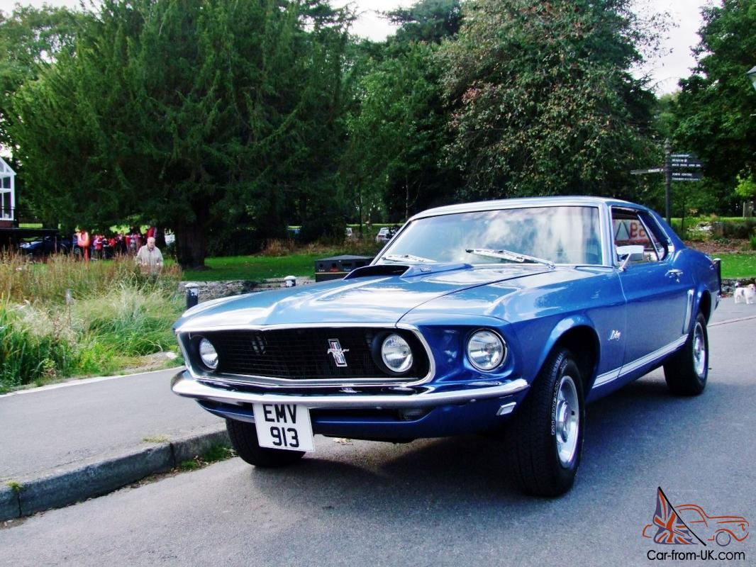 1969 Ford Mustang GT 390 - Coupe1969 Mustang Coupe Value