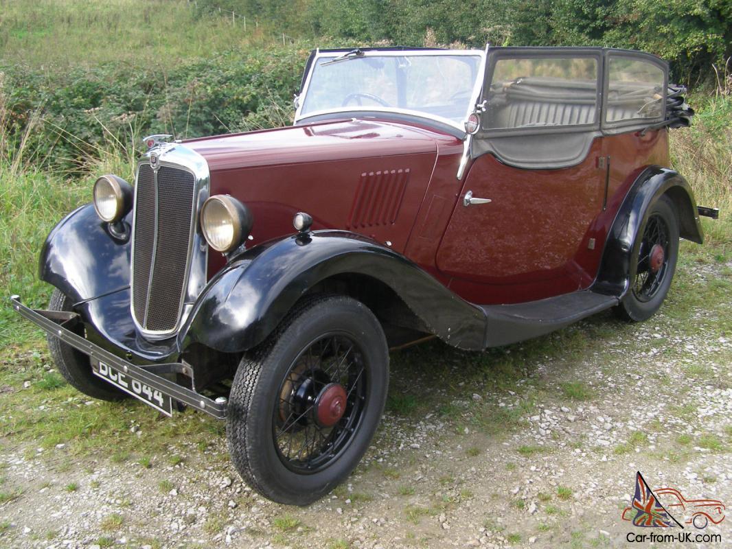 1936 Morris 8 Tourer