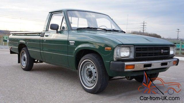 Toyota Diesel Pickup >> 1982 Toyota Diesel Pickup Truck Rare Pure Sale Manual Regular Cab