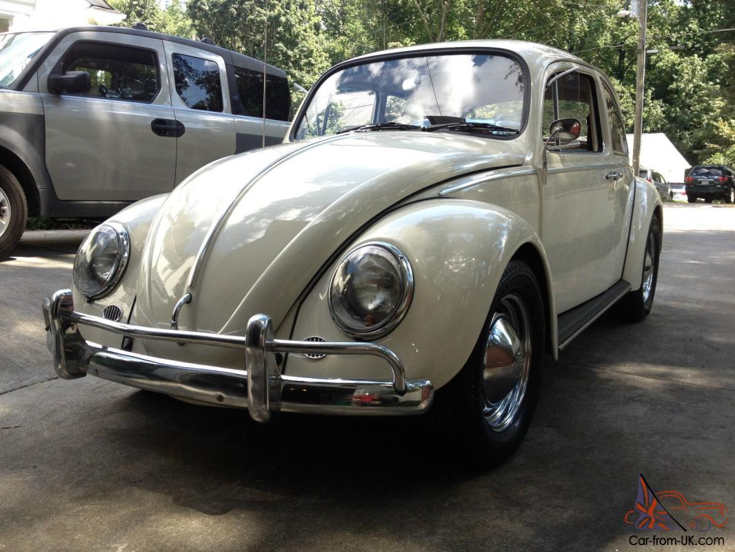 Fully Restored 1966 Volkswagen Beetle Bug Vw Classic