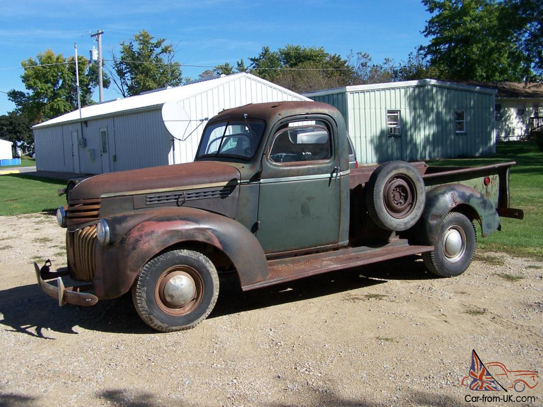 1942 Chevy Truck Clean Clear Iowa Title Very Rare Year Of Truck