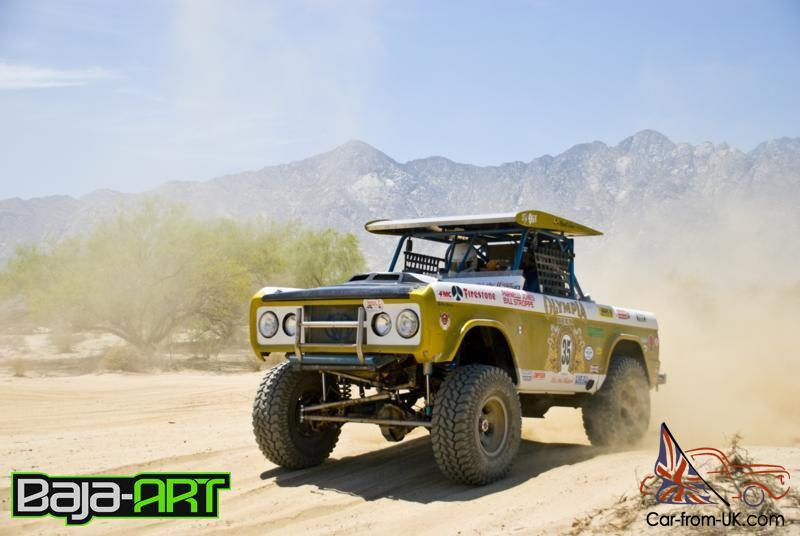 Trophy Truck For Sale >> Ford Big Oly Replica Bronco Trophy Truck Parnelly Jones Rare Desert Racing Truck