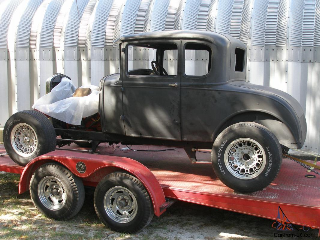 1930 Ford 5 Window Coupe Rat Rod Hot Rod