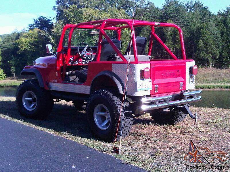1986 Jeep CJ7 Restoration - Chevy 350 Conversion