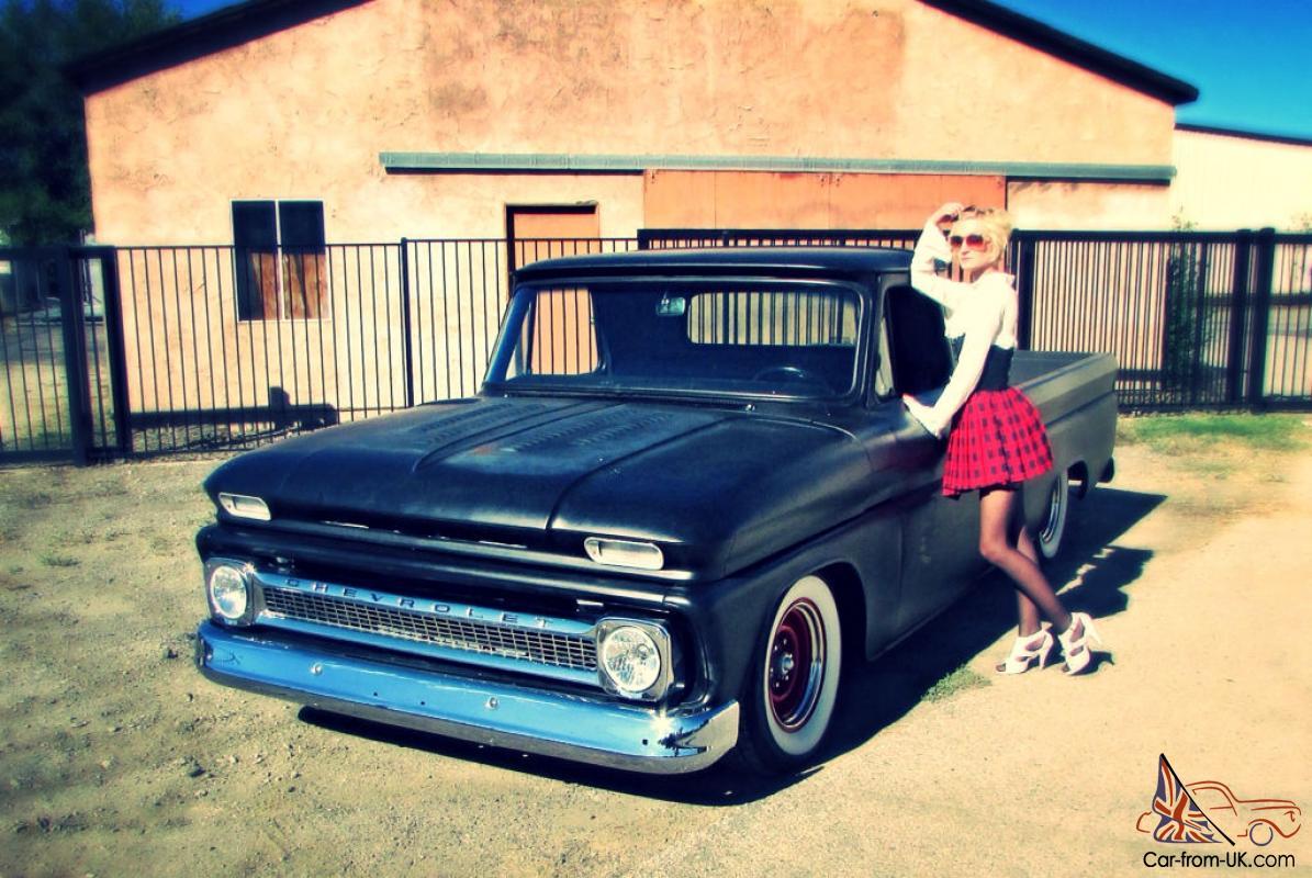 All Chevy 63 chevy c10 : C10 Long Bed Fleetside 383 Stroker 475HP, 700R4 Trans, RAD HOT!