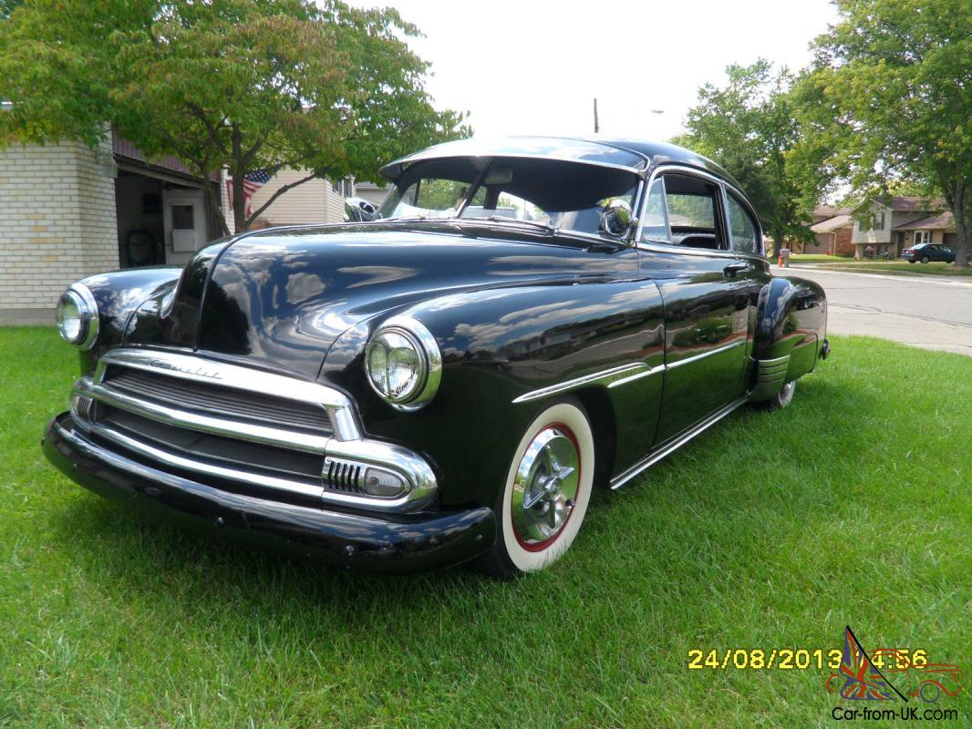 All Chevy 1951 chevy deluxe for sale : CHEVROLET FLEETLINE DELUXE, HOT ROD, RAT ROD, STREET ROD