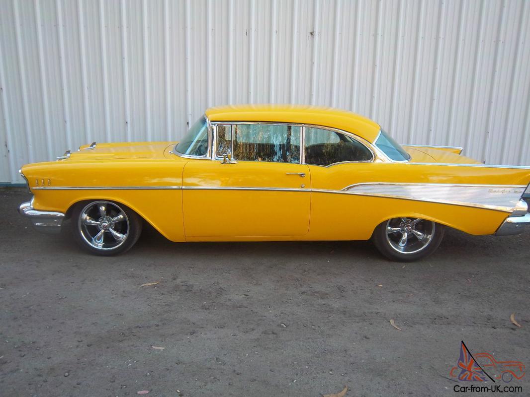 Chevy High Performance >> 1957 Chevrolet Belair 2 Door Hardtop Chevy High Performance Magazine Feature Car