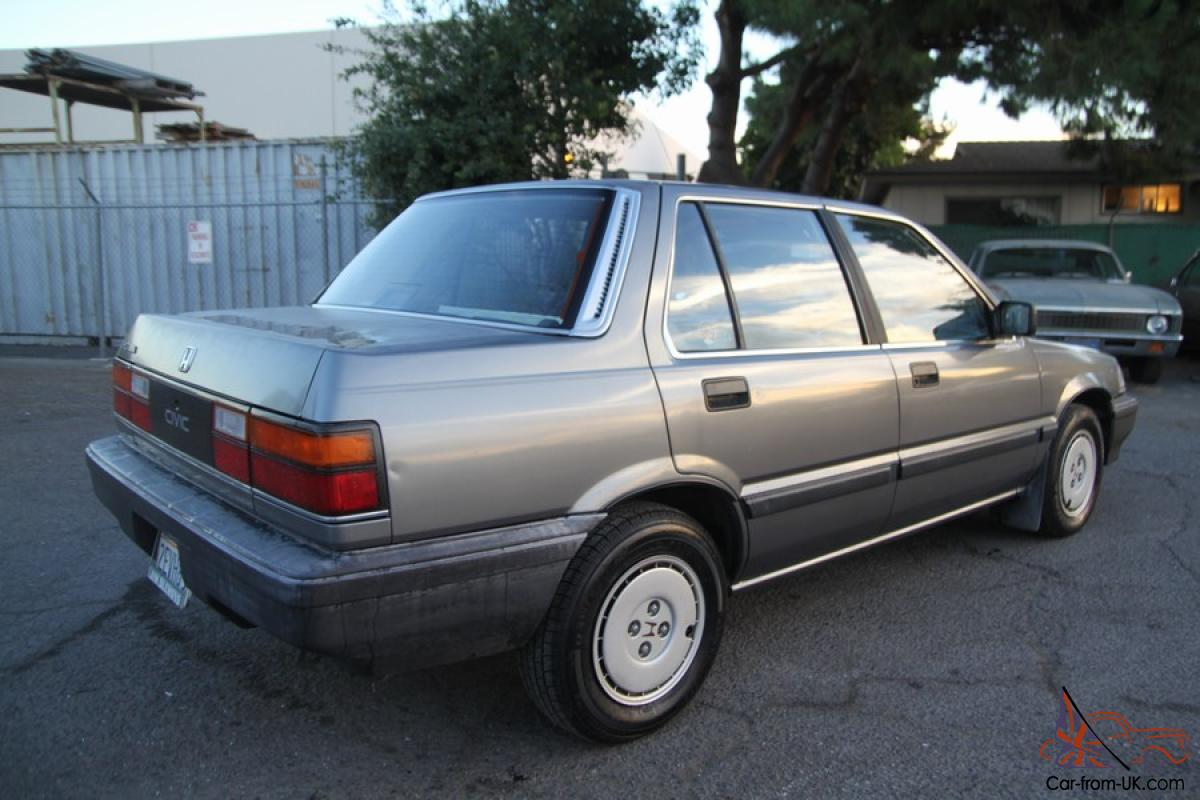 1987 Honda Civic 1 5 4