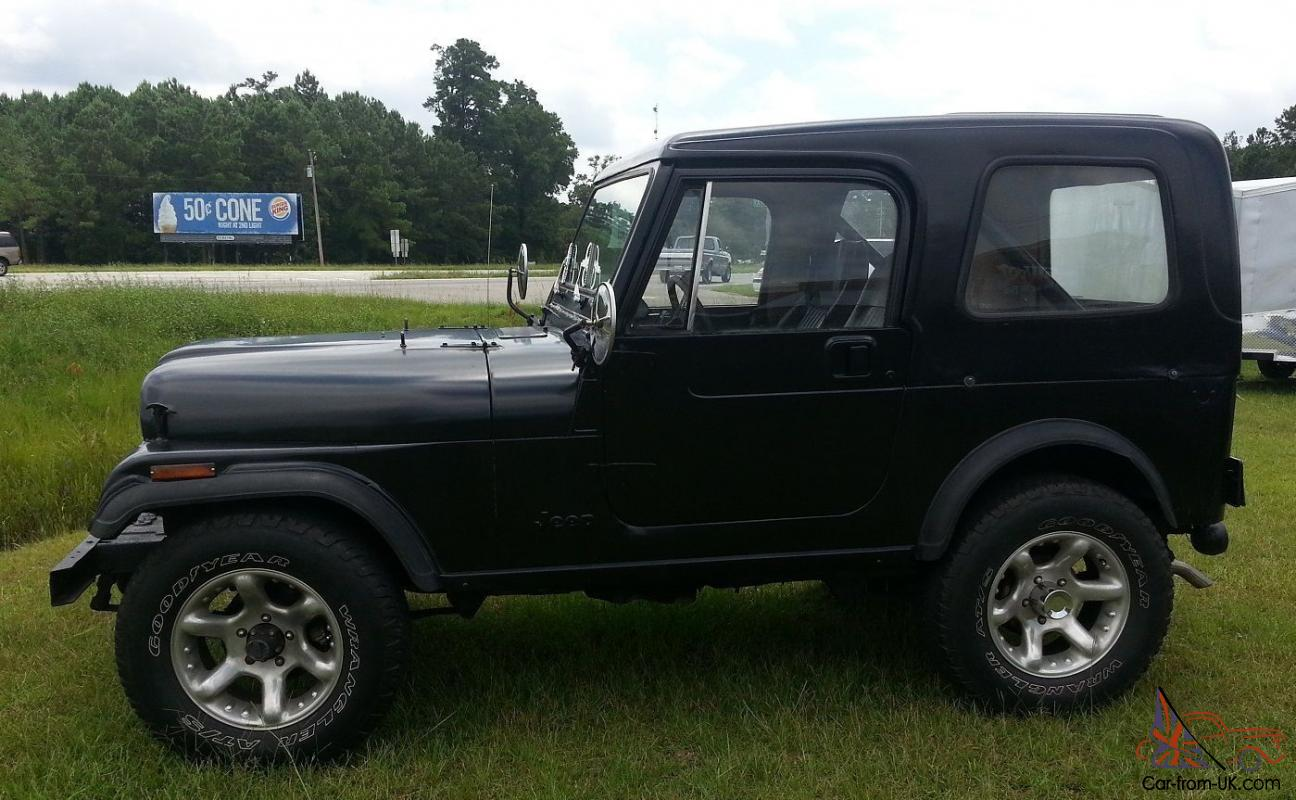 1984 Jeep Cj7 Hardtop 42l 6 Cylinder Not Cj5 Or Wrangler No Wiring Diagram Furthermore 1980 Also Reserve