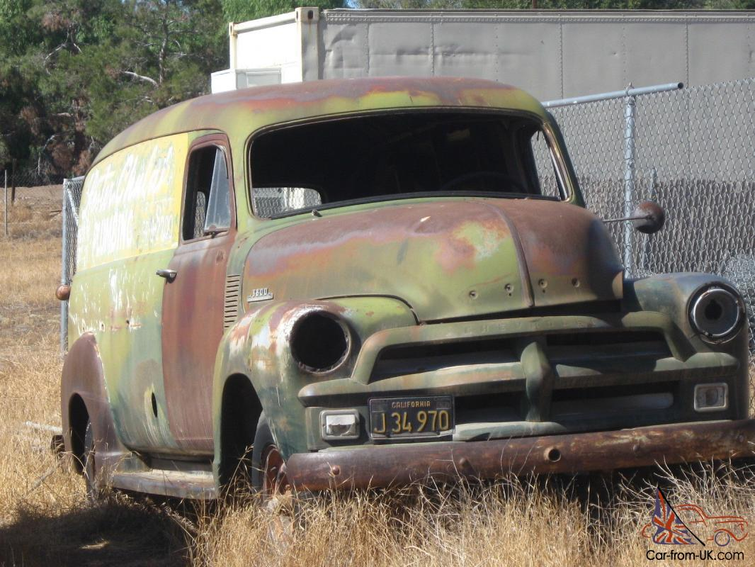 All Chevy 1954 chevy : CHEVROLET/CHEVY 1 TON 3800 PANEL TRUCK