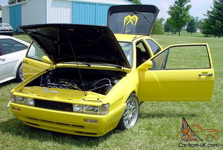 Seidl Volkswagen Scirocco Racecar, turbo Motec