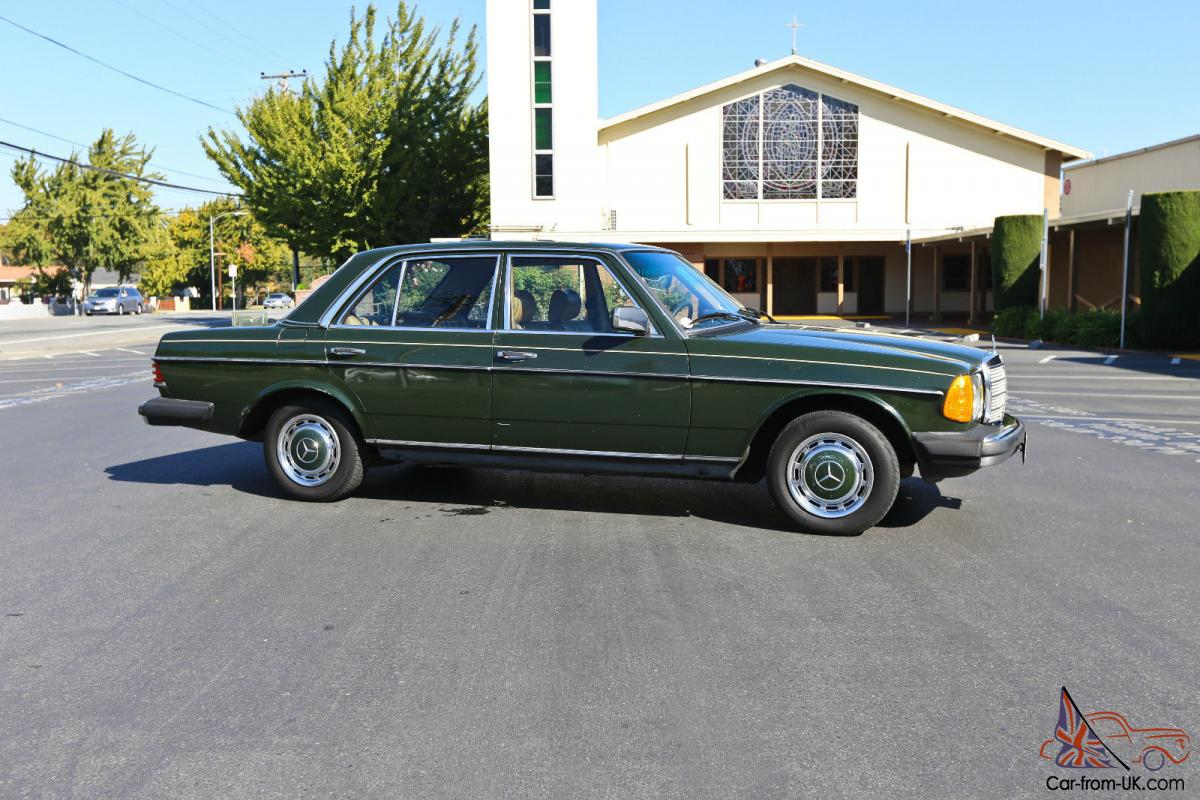 1983 Mercedes Benz W123 240D