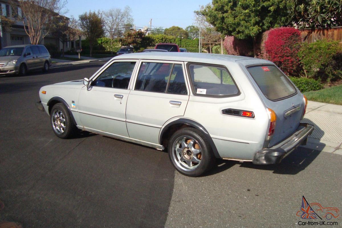 1976 Toyota Caorolla Station Wagon No Reserve For Sale