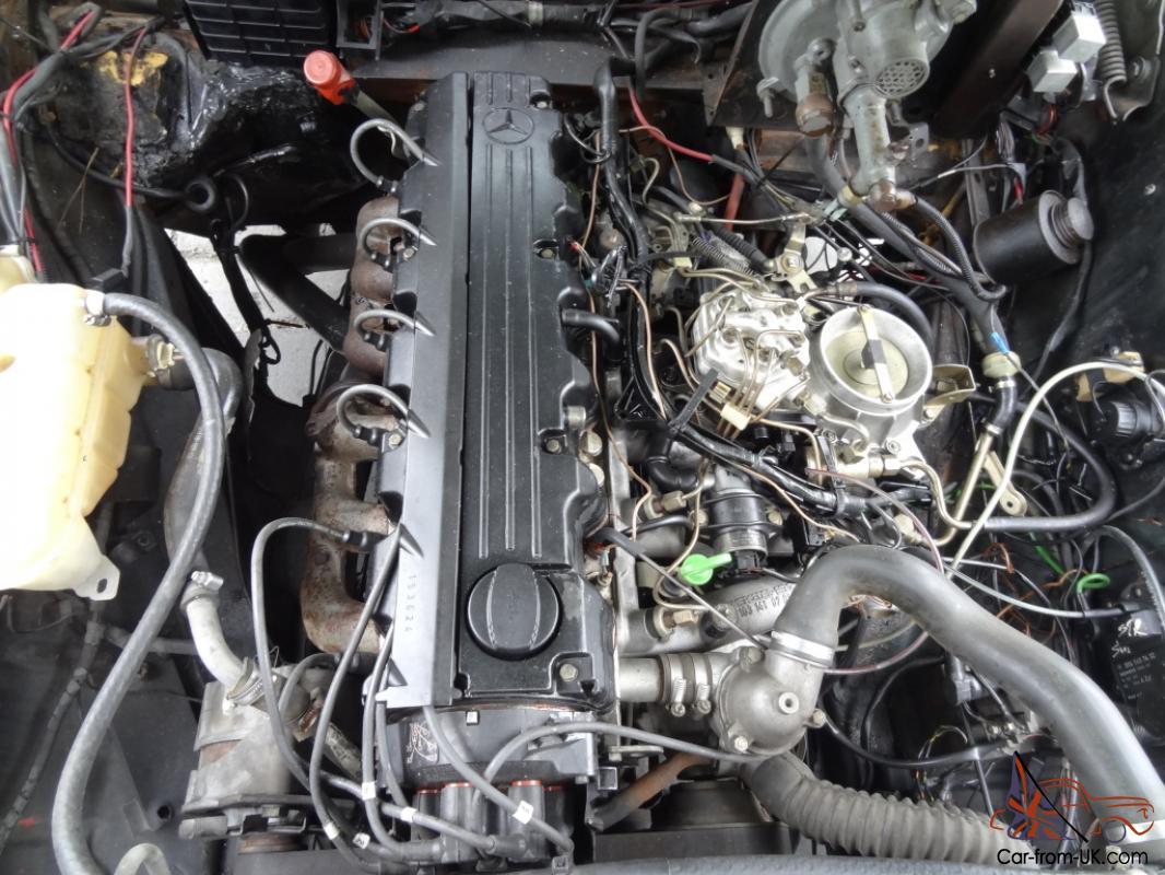 57 Mercedes Benz 220S Ponton W180 220 S 300E Motor Conversion