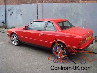 Maserati Karif, 1991, twin turbo Hand built by Zagato,future classic,very rare
