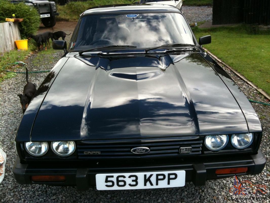 1985 Ford Capri Injection Black