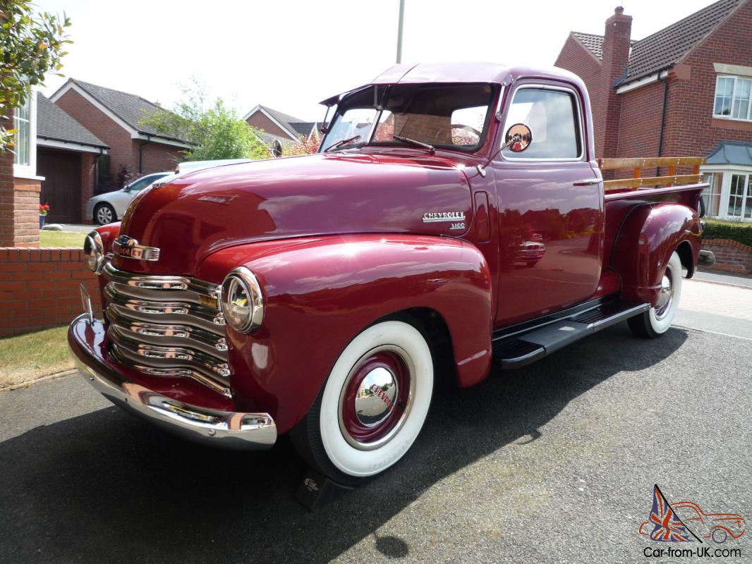 1949 Chevrolet 3100 Pick Up Truck 1 2 Ton 60k Miles Restored And 1955 Ford F100 St Louis Beautiful