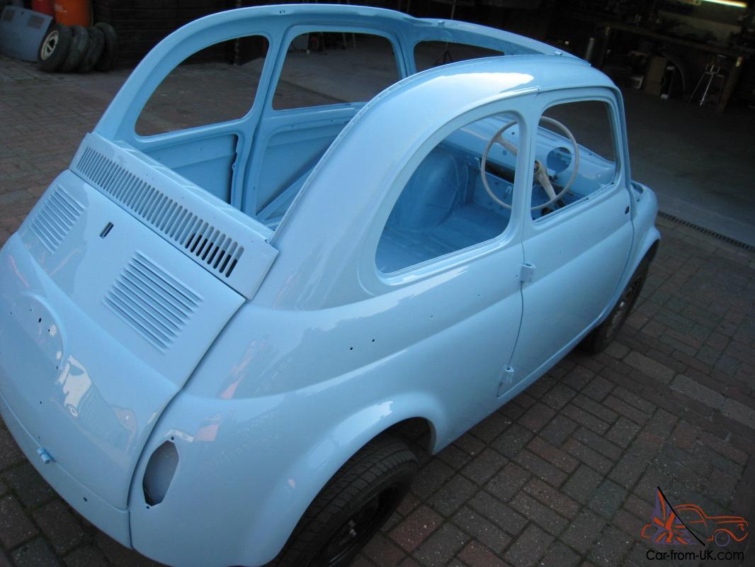 Fiat 500n 1959 Classic Fiat 500n Convertible Right Hand Drive Fiat 500n Cabrio