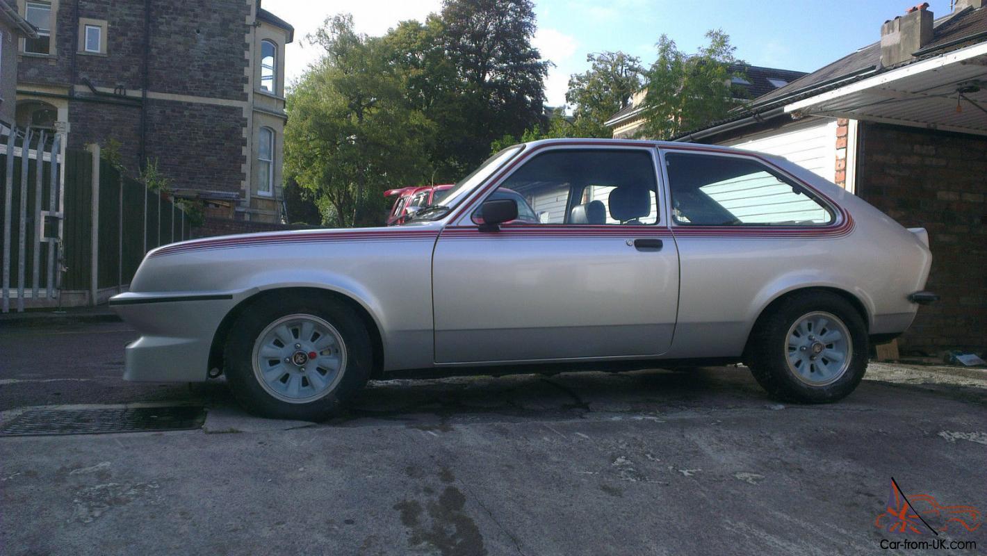 1979 vauxhall chevette 2300 hs silver for sale 1979 vauxhall chevette 2300 hs silver