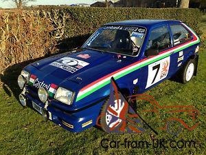 82 rwd vauxhall chevette 2 0 rally track drift car hsr wing 82 rwd vauxhall chevette 2 0 rally