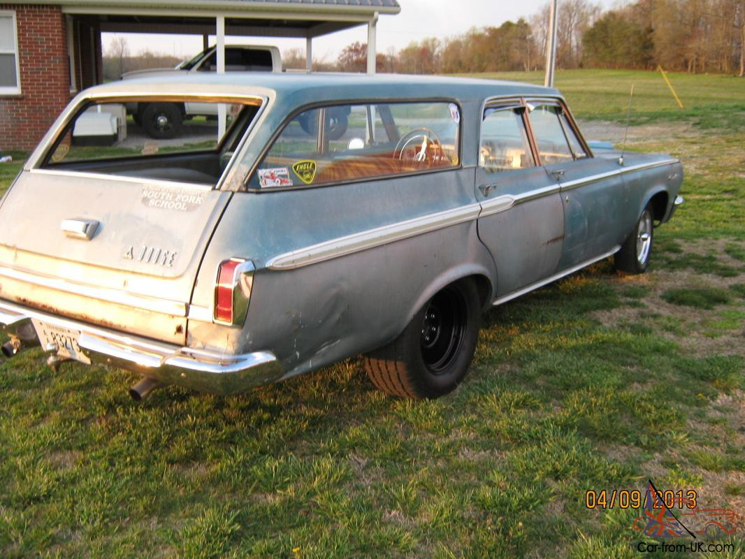 1965 Dodge Coronet 440 6 Passenger Wagon Big Block 4 Speed