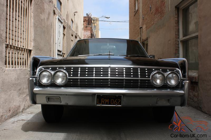 1962 Lincoln Continental Clean Ca Black Plate Car 61 63 64 64 Wheels