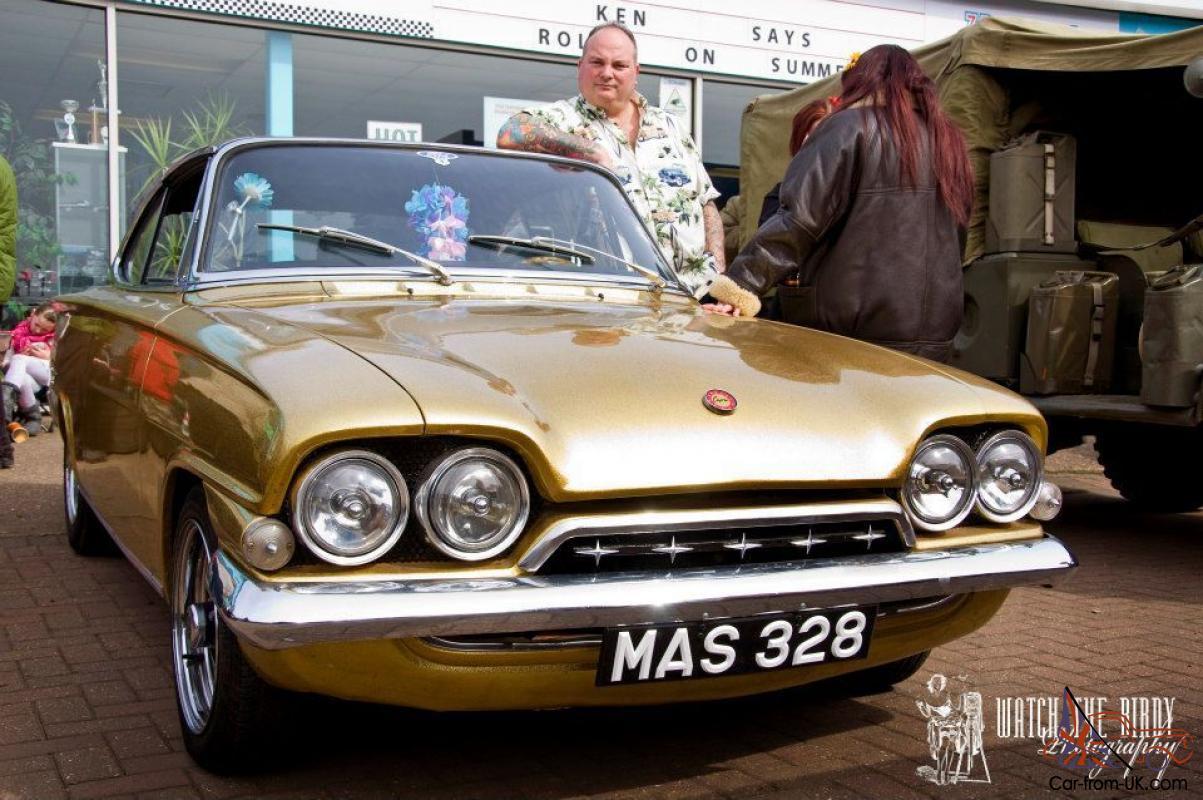 1962 Ford Consul Capri Lhd V8 Rare Classic Car Street Rod For Sale
