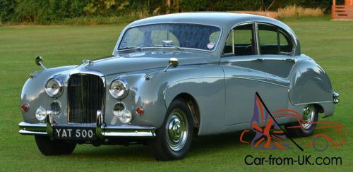 1958 Jaguar Mark VIII 3.5 litre Auto. Concours condition.