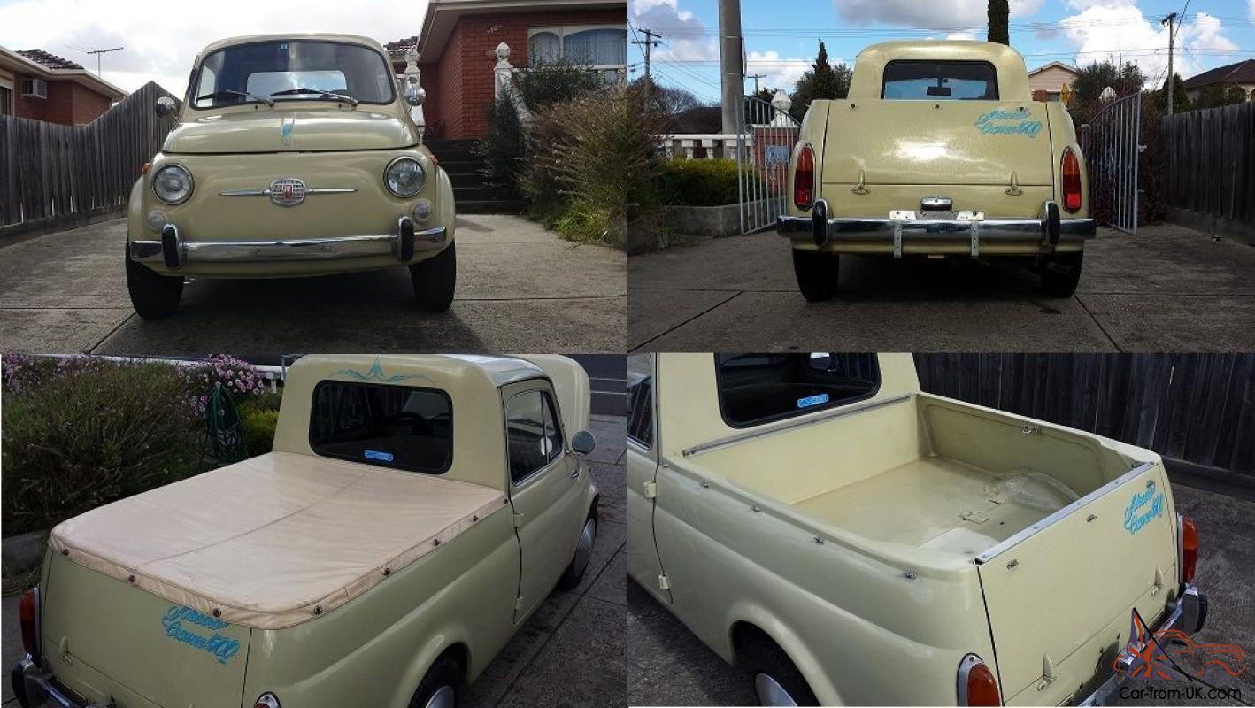 Fiat Gardiniera Ute Pick Abarth Melbourne Vic