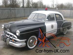 1950 Pontiac Silver Streak Chieftain American Police Car Prop