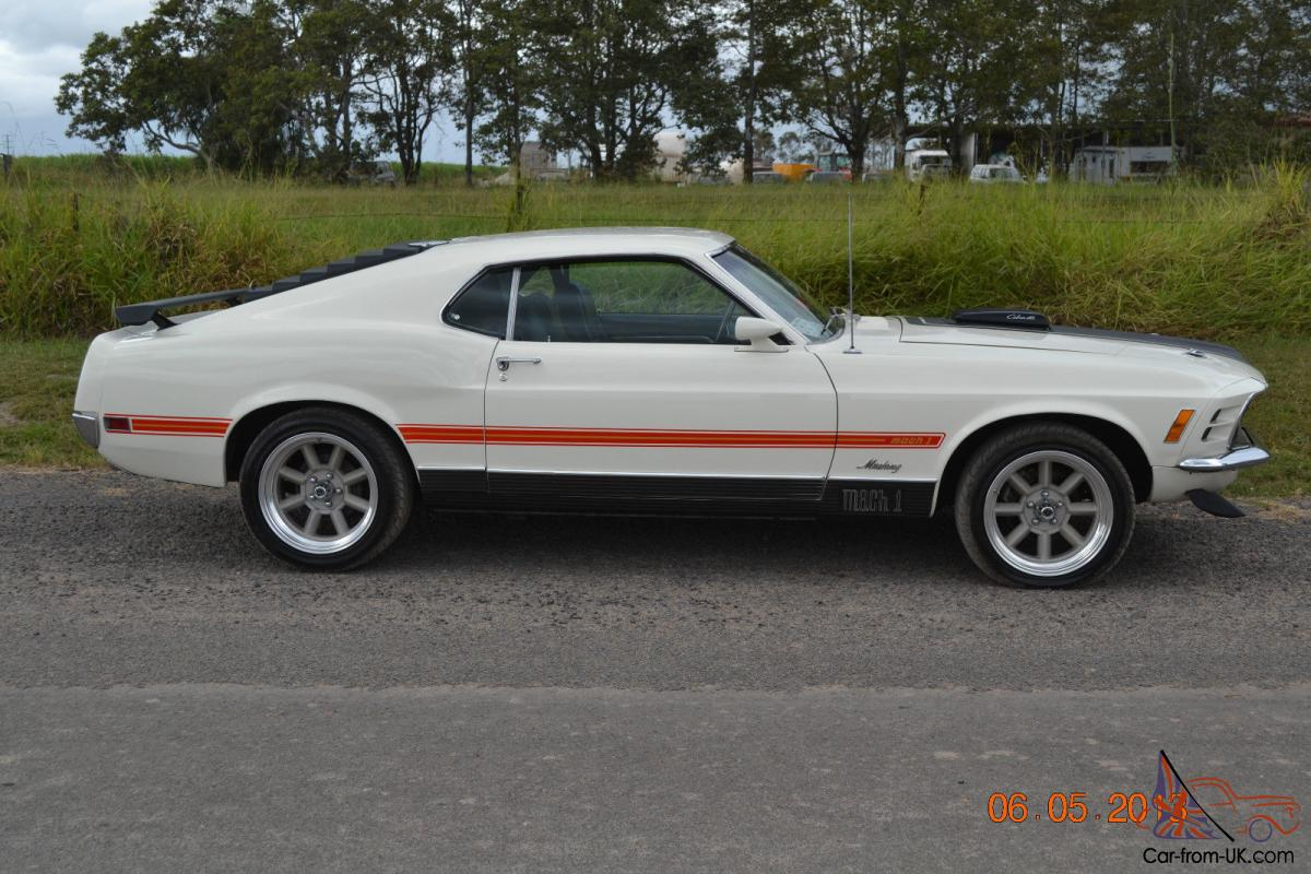 Ford Mustang Mach 1 428 Cobra JET 1969 in Wide Bay-Burnett, QLD