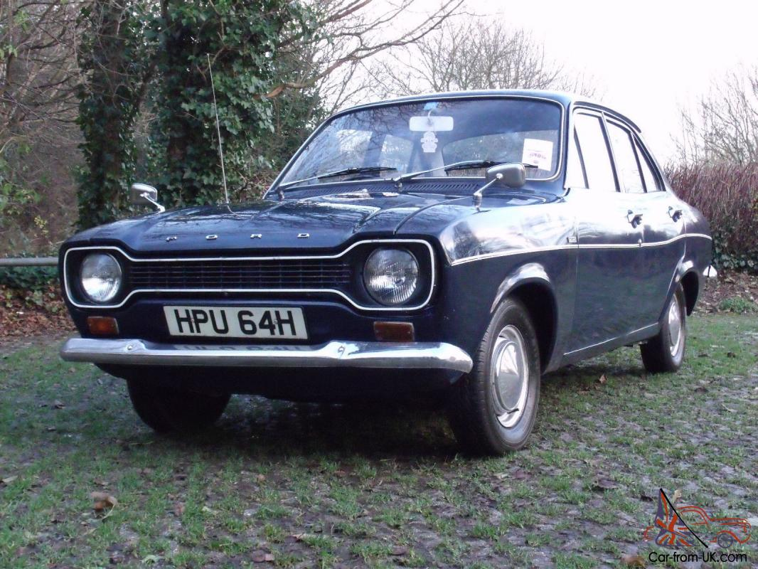 ford escort mk  deluxe  family owned