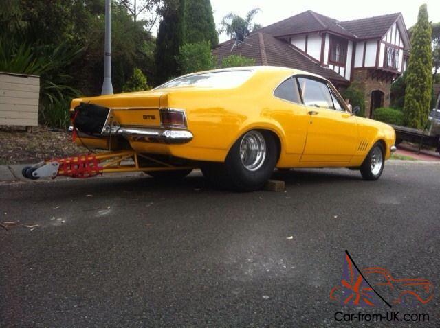 Hg Monaro Drag Car Roller Chev Big Block Pro Street Tubbed
