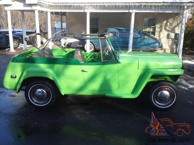 Willys   Jeepster Two Tone